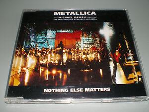 CD-SINGLE-PROMO-METALLICA-NOTHING-ELSE-MATTERS-RARE-SLIM-JEWEL-CASE-COMME-NEUF