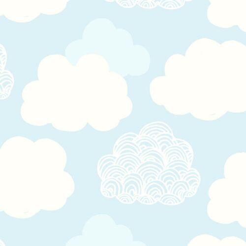 Plus 100/% coton Couverture nuageuse Bleu Adventures in the Sky Liberty Tissu FQ