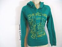 Bebe Puzzle Logo Pop Over Hoodie Sweater Size S. Msrp $80