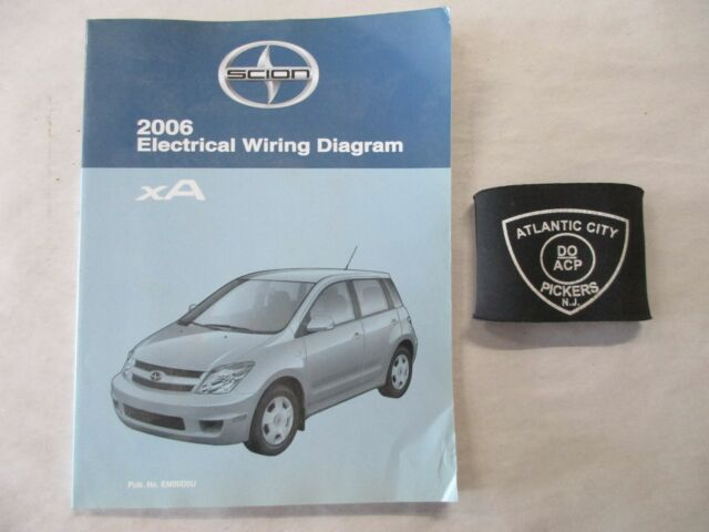 2006 Toyota Scion Xa Electrical Wiring Diagram Service