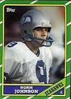 1986 Topps Norm Johnson #204 Football Card