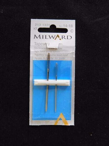 Milward Tapicería Agujas Coser mano-No14-18