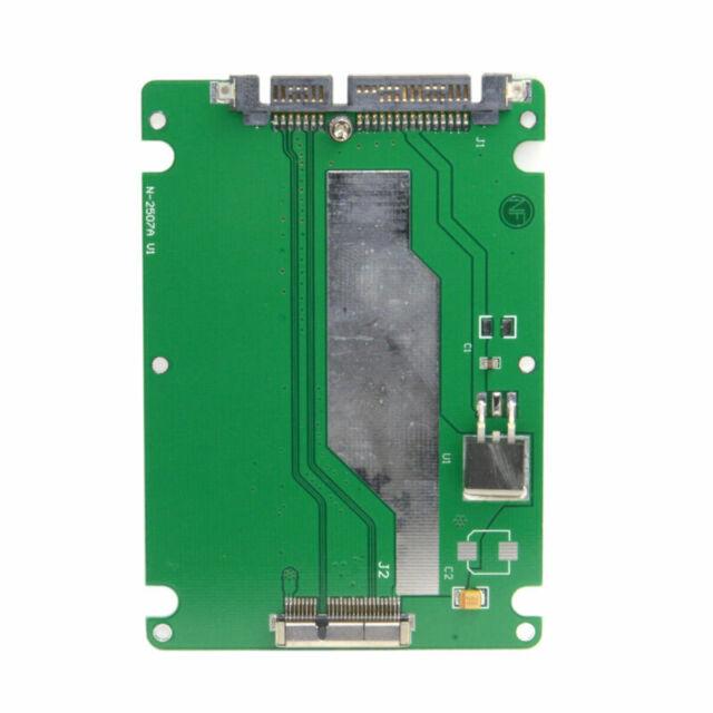 "2.5"" SATA 22pin to Macbook 2012 Retina Pro A1425 A1398 MC975 17+7pin SSD Case"