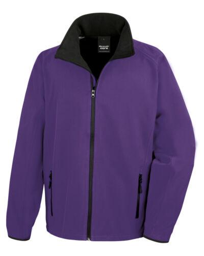 Result Uomo Giacca Softshell Fodera in Pile Caldo Inverno Idrorepellente Workwear