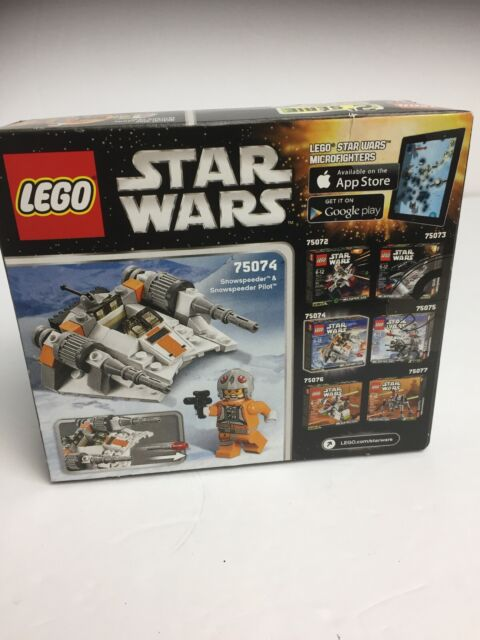 New Lego Star Wars 75074 Snowspeeder 97 Piece Set Microfighters Series 2 Sealed