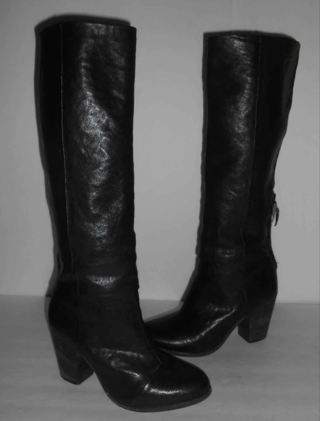 Rag & bone 'Newbury' 'Newbury' 'Newbury' Knee High Boot Black Sz 38 27900b