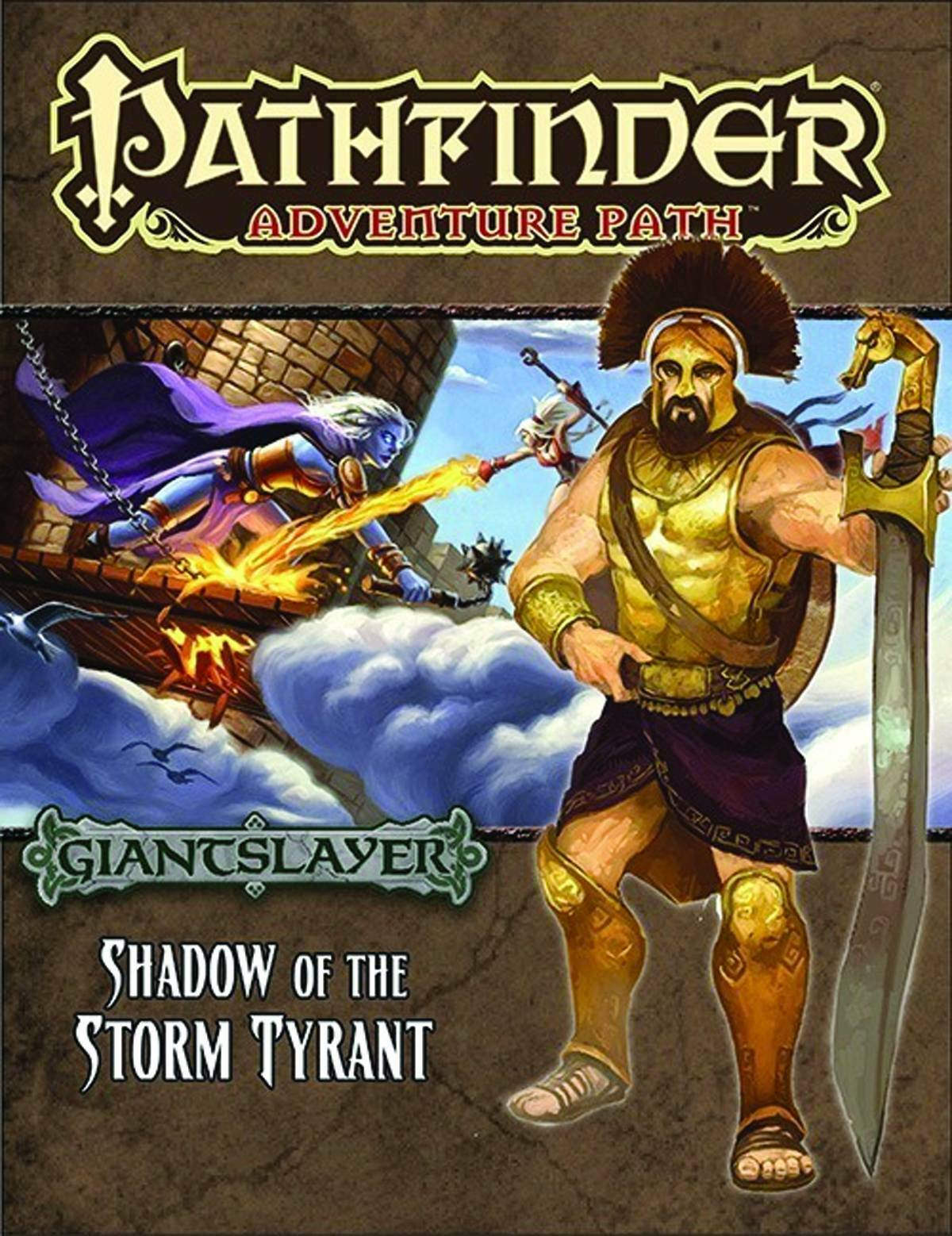 Pathfinder RPG - Adv - Giantslayer Pt 6 - Shadow Of The Storm Tyrant