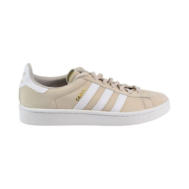 adidas Campus Shoes Women's Beige Clear Brown / Running White 9.5