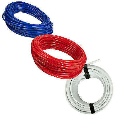 Red HydroMaxx Flexible Non-Toxic BPA Free Translucent Colored Vinyl Tubing 1 ID x 1 1//4 OD x 100 ft