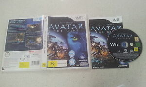 James-Cameron-039-s-Avatar-The-Game-Nintendo-Wii-PAL-Version