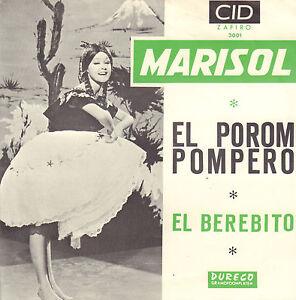 MARISOL-El-Porom-Pompero-El-Berebito-1964-VINYL-SINGLE-7-034-RARE-DUTCH-PS