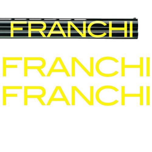 3 sizes 2x FRANCHI Vinyl Decal Sticker 10 colours