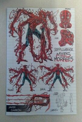 Absolute Carnage Miles Morales #1 Garron Young Guns Variant Doppelganger Marvel