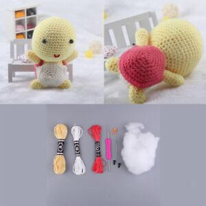 Diy Doll Crochet Kit For Beginners Hand Knitting Kids Gift Diy