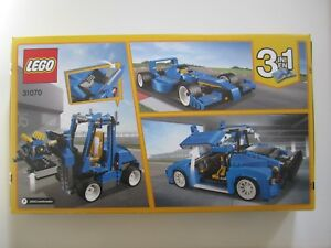 31070 Lego Creator Turbo Track Racer 664 Pieces Factory Sealed New