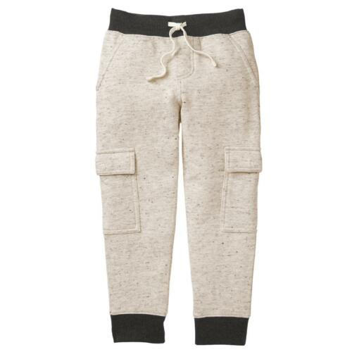 NWT Gymboree Boys Pull on Pants Cargo Joggers Sweatpants Alpine Road 5//6,7//8,14