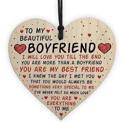 Boyfriend Gifts Boyfriend Birthday Card Gift Boyfriend Valentines Gift For Him 5056293512473 Ebay