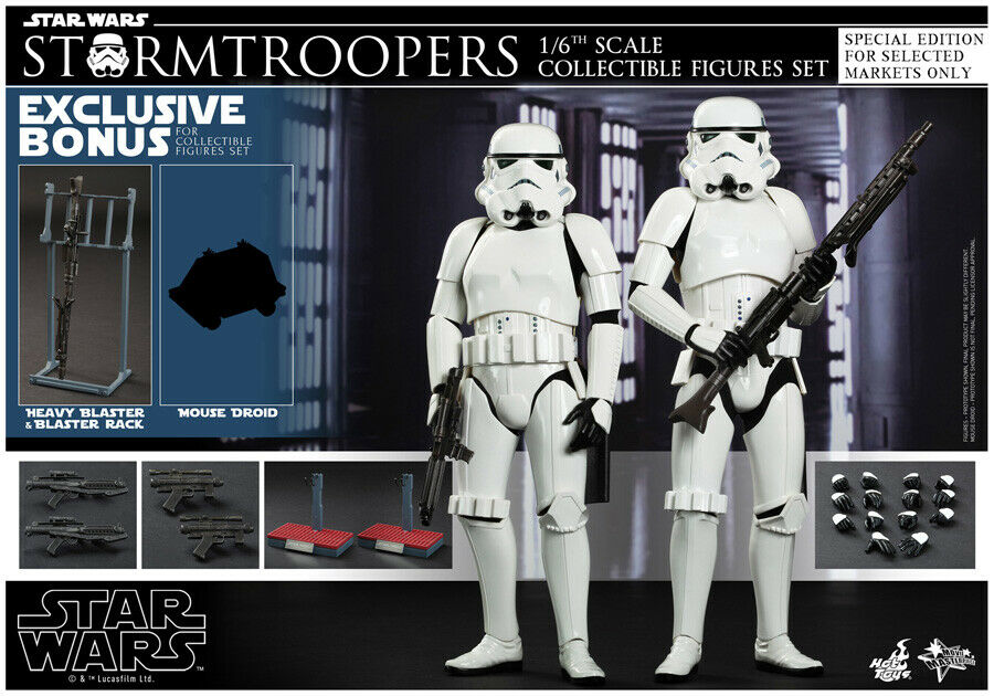 Hot Toys 1 6 Star Wars EP IV 4 tormtroopers Set Exclusive Special MMS268 Japan