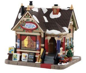 Lemax Creative Kids Art Studio Christmas Village Piece RARE NIB New In Box!!