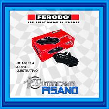 FDB1469 PASTIGLIE FRENO POSTERIORI FERODO FIAT STILO (192) 1.9 D Multijet 100hp