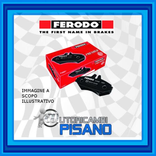 FDB4252 KIT 4 PASTIGLIE FRENO FERODO POSTERIORI NUOVE /& ORIGINALI