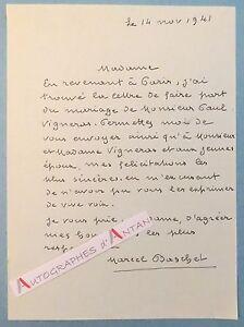 L-A-S-1941-Marcel-BASCHET-Peintre-illustrateur-Vigneras-ne-a-Gagny-Lettre-LAS
