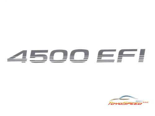 STICKER Toyota Land Cruiser 4500 EFI Decal FZJ71 SERIE 100 105 PAIR MACHITO