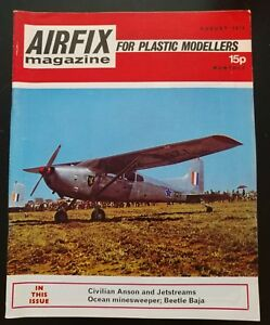 Airfix-Magazine-for-Plastic-Modellers-Aug-1972-Civilian-Anson-Jetstreams
