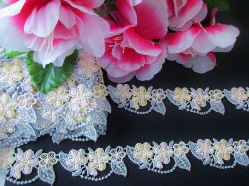Amazing design Venise lace trim ribbon price for 1 yard