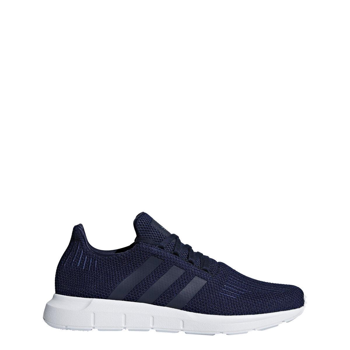 New Adidas Men's Originals Swift Run shoes (B37727)  Collegiate Navy  White