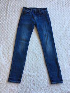 Mens American Eagle Next Level Flex Skinny Jeans Size 30x34 (Actual 30x32)Denim