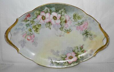 Service /à th/é en porcelaine /à motif de fleurs avec lignes dor/ées Chine Th/éi/ère caf/é tasse /à lait et soucoupe /à sucre cadre de tasse /à th/é dor/é