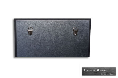 Magnettafel Magnetwand Pinnwand aus Schiefer 30x60 cm inklusive 10 Magneten