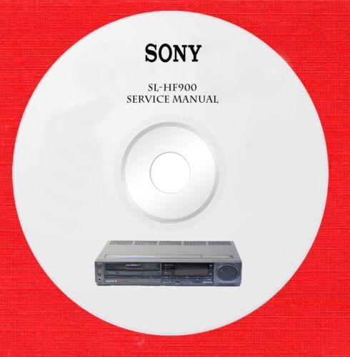 Sony SL-HF900 Repair Service manuals on 1 CD in pdf format