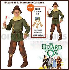 item 2 Wizard of Oz Scarecrow Costume Child Boy SMedium FREE 5Pc Straw Kit Bookweek -Wizard of Oz Scarecrow Costume Child Boy SMedium FREE 5Pc Straw Kit ...  sc 1 st  eBay & Wizard of Oz Scarecrow Costume Child Boy S Medium 5pc Straw Kit ...