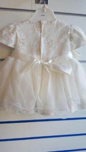 BABY GIRLS 2 PIECE CHRISTENING  WEDDING  SPECIAL OCCASION DRESS