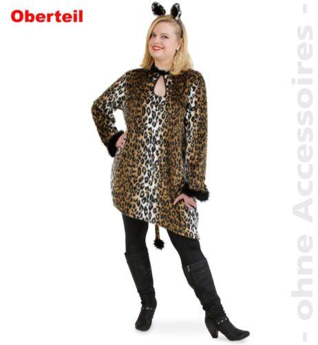 Plus Size Damen Kostüm Leo Katze Big Shirt Karneval Fasching Fri
