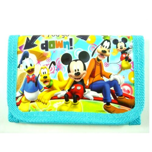 NEW Mickey Mouse Kids Boys Childs Purse Coins Wallet Party Bag Gifts GIFT