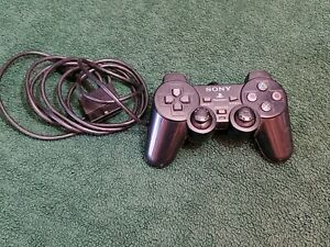 Sony Analog Play Station Hand Held Controller Wired Black