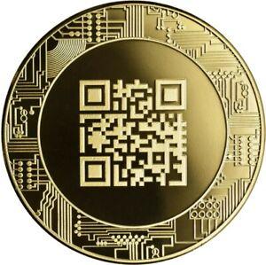 Munze-Medaille-Bitcoin-Nordic-Gold-Sammelmunze-I-NEU