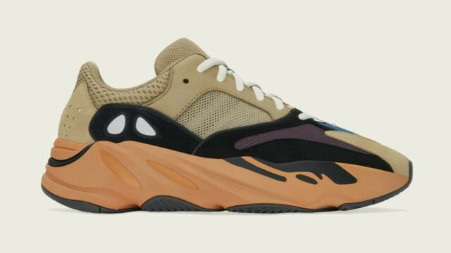 DS. Adidas Yeezy Boost 700 Enflame Amber. Mens Size 11. GW0297