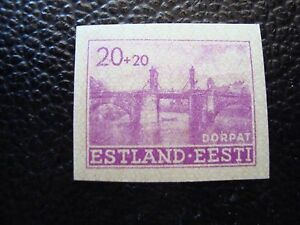 Estonia-Occupation-German-Stamp-Yvert-and-Tellier-N-5-N-A03-Stamp-A