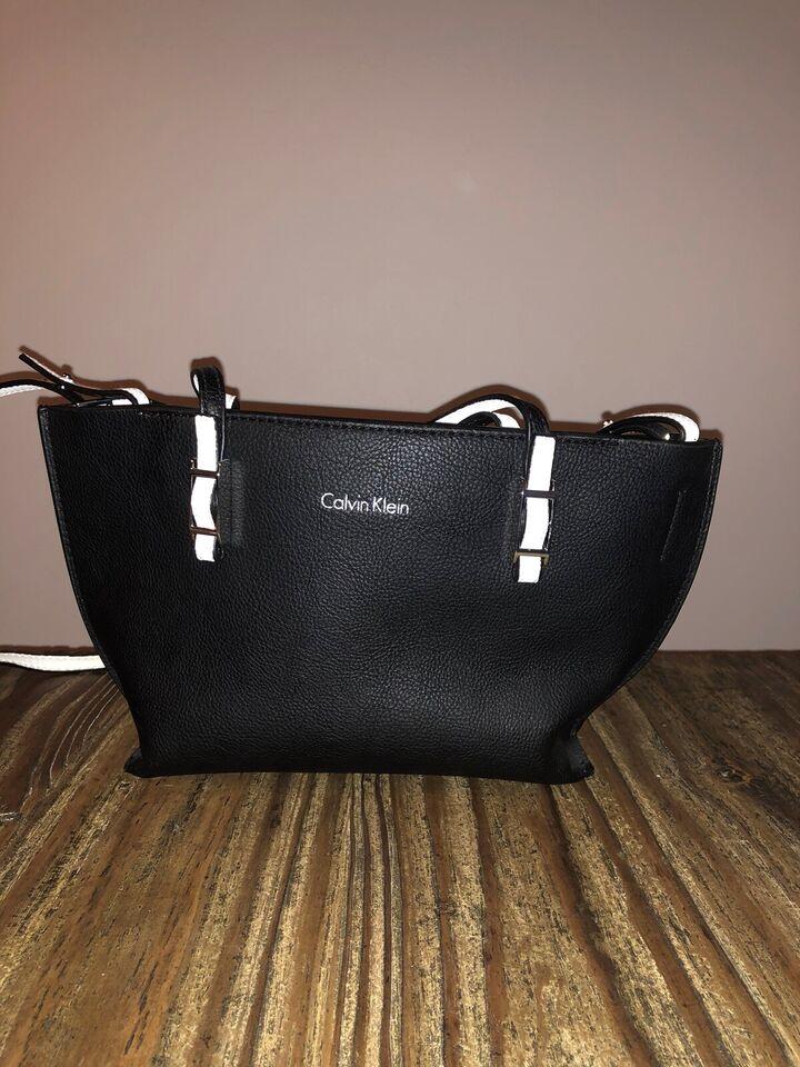 Crossbody, Calvin Klein, læder
