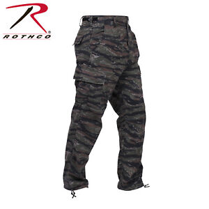 aac779c7764 Tiger Stripe Camo BDU Pants Military Style cargo Pants Poly Cot ...