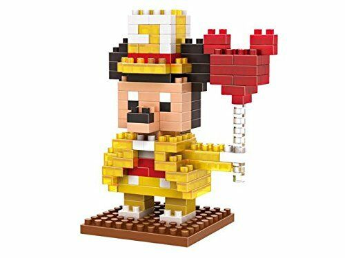 iBlock Fun LOZ Diamond Gold Dress 170Pcs Transparent Mickey Mouse