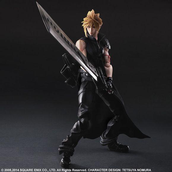Final Fantasy 7 AC Action Kai Cloud Claude Advent son PVC Figure Toy Gift