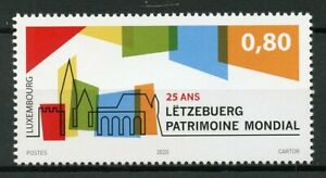 Luxembourg-Architecture-Stamps-2020-MNH-UNESCO-World-Heritage-25-Years-1v-Set