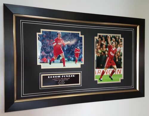 Robbie Fowler Liverpool Signed Photo Picture Autograph Display