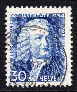 Switzerland-30-Cent-Stamp-c1934-Used-1013