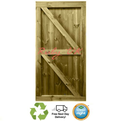 Premium Tongue /& Groove Fully Framed Strong Garden Gate Heavy Duty Treated